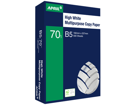 APRIL High White Multipurpose Copy Paper